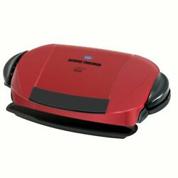George Foreman 5 Serving Removable Plate Electric Indoor Grill and Panini Press $56.00