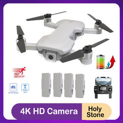 Holy Stone HS510 GPS RC Drone 4K Camera Brushless FPV Quadcopter 2 Batteries $199.99