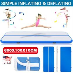 Air Track 20FT Airtrack Inflatable Floor Gymnastics Tumbling Mat Training GYM US $124.99