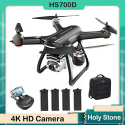 Holy Stone HS700D with 4K HD Camera GPS RC Drone FPV Quadcopter Brushless Case $309.00