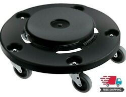 Rubbermaid Commercial Products BRUTE Round Dolly Wheels Use with BRUTE Trash Can