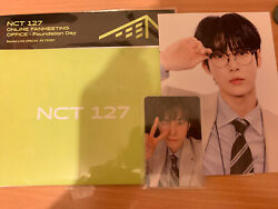 NCT 127 DOYOUNG ONLINE FANMEETING OFFICE : FOUNDATION DAY BEYOND LIVE AR KIT GBP 22.00