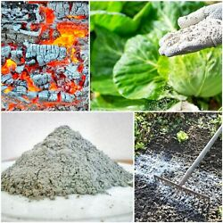 Pure Premium Double Sifted Hard Wood Ash Organic Compost Gardening Pottery Soap $6.99