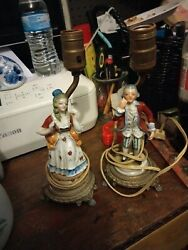 Pair of Antique French lamps $100.00