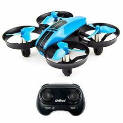 UDI U46 Mini Drone for Kids 2.4Ghz RC Drones with Auto Hovering Headless Blue $38.49