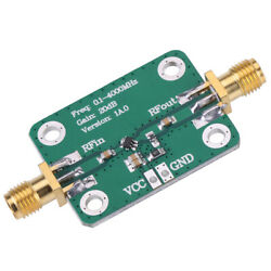 RF Amplifier Wide Frequency Range Low Supply Voltage Low Current Consumption $13.22