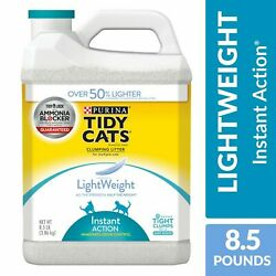 Purina Tidy Cats Low Dust Clumping Cat Litter LightWeight Glade Clear Springs M $13.60
