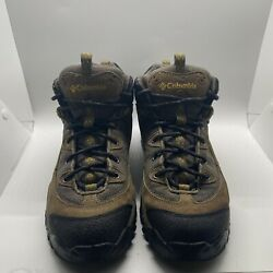 Columbia Trail Meister Mid Brown Black Hiking Boots Men's Size 9 BM3111 263 $24.99