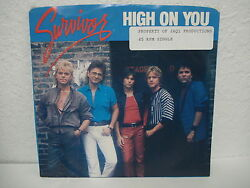 SURVIVOR - HIGH ON YOUEVERLASTING 45 RPM