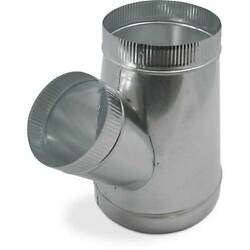 Single Wall Metal WYE for Connecting Duct Fittings Ventilation Branch $29.00