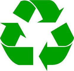 Recycle Logo Vinyl Decal Sticker Work or Home Renew and Reuse PICK SIZE amp; COLOR $8.99