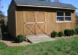 Custom Design Shed Plans 12x20 Gable Backyard Complete Shed Plans Package