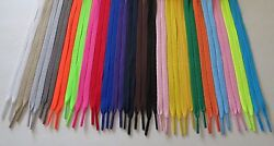 FLAT Athletic 27 36 45 54 63 72 Inch Sneaker SHOELACES - shoe lace strings