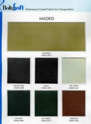 Madrid Leather-Like Vinyl for General Automotive Seating - Sold by the Yard
