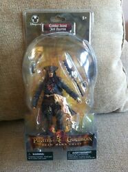 New Disney Store Exclusive Pirates Caribbean Cannibal Jack Sparrow Action Figure $19.95