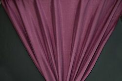 45quot; Burgundy Crinkled Satin HOME DECOR Fabric SALE FABRIC 10 Yards $29.95
