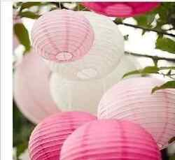 5 or 10 pieces OF 8quot; 10quot; 12quot; Chinese Paper Lantern Wedding Party Decoration $9.49