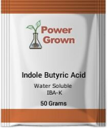 Indole Butyric Acid Water soluble 50grams 99% IBA-K wInstructions