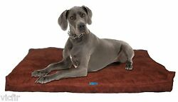 Shredded Memory Foam Orthopedic Dog bed Extra Large Breed Dogs55quot;x37quot;Brown $114.99