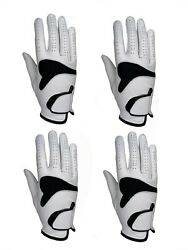 ***New*** 4 Mens All Cabretta Leather Golf Gloves Right Hand $24.99