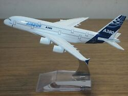New AIRBUS A380 Passenger Airplane Plane Aircraft Metal Diecast Model Collection $13.77
