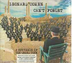 SEALED - Leonard Cohen CD Can't Forget A Sovenir Of The Grand Tour BRAND NEW