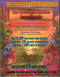 Natural Home Remedies Encyclopedia Book Healing 7th Edition Vance H. Ferrell $59.95