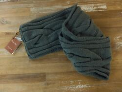 auth LORO PIANA thick baby cashmere scarf - NWT