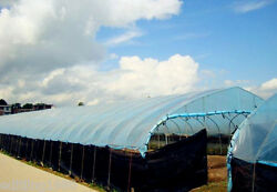 Greenhouse Light Blue Plastic Clear 5 Year 5.5 Mil Poly Film -Various Lengths