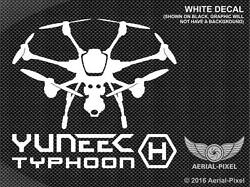 Yuneec Typhoon H Window Case Decal Sticker for Hexacopter UAV Drone ST16 CGO3 $9.00