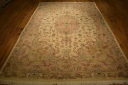 Hand Knotted Rug 7' x 10' Persian Tabriz Cheap Area Rugs Carpet Indoor Rug