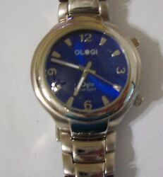 Bold Men#x27;s OLGI OGLO Blue Faced Domed Watch $40.50