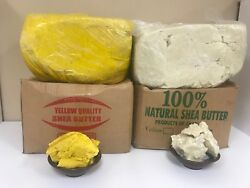 100% RAW AFRICAN SHEA BUTTER Unrefined Organic Pure GHANA Choose SIZE And COLOR $11.99