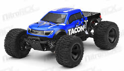1 14 Tacon Valor Electric RC Monster Truck BRUSHLESS Ready to Run 2.4ghz BLUE $230.00