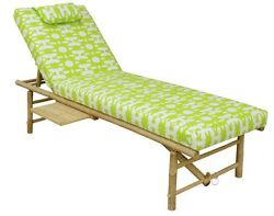 Outdoor Adjustable Folding Chaise Patio Lounge Table Chair Pool Lawn Bed Lounger