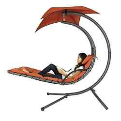 Floating Hammock Swimming Chaise Lounge Lawn Garden Deck Pool Chair Furniture