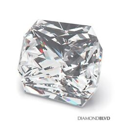 1.03ct JVVS2V.Good Cut Square Radiant AGI Earth Mined Diamond 5.48x5.29x4.08mm