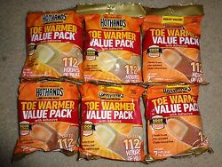 Lot of 6-7 Pair Packs 84 HotHands Toe Warmers 42 Pairs Hot Hands Exp 032023 $31.95