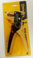 Multifunctional Wire Stripper Stripping Cable Cutter Plier Professional Tool NEW $10.50