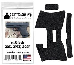 Tractiongrips rubber grip tape overlay for Glock 30S 30SF 29SF $11.50