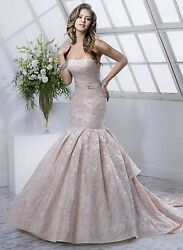Authentic quot; MASONquot; wedding gown by MAGGIE SOTTERO Size 8 color : Blush SoftPink $1298.00