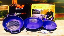 NEW Minelab PRO GOLD Gold Panning Kit 3011 0325 Everything you need to find GOLD $49.95