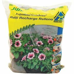 (12 BAGS OF 25 PELLETS EACH!) JIFFY PROFESSIONAL GREENHOUSE PEAT PELLETS REFILLS