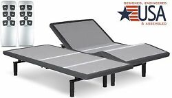 SPLIT KING FALCON 2.0 PLUS ADJUSTABLE BED WYR CHOICE OF 10