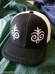 Fashion hip hop cap very rare design 100% wool