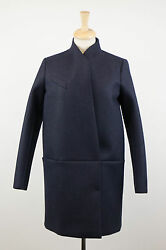 NWT BRUNELLO CUCINELLI Blue Cashmere Blend Full Length Coat Size 844 $4795