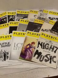 Broadway Playbills Plays Lot 18 Little Miss Sunshine Shakespeare Skylight Foxes