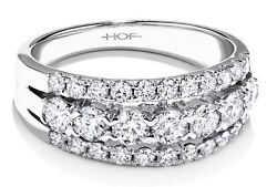 Hearts on Fire Enjoyment 18kw gold 1.24ctw diamond ring Retails for $7990