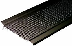 Arlington Ggp5100db-1 Gutter Guard Pro Gutter Screen System Snap-in Cover 100-