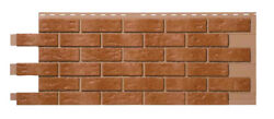 Mobile HomeRV Novik Brown Blend Simulated Brick Skirting Panel (9 Pieces)